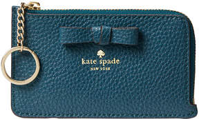 Kate Spade Emerald Forest Pershing Street Poppy Leather Coin Purse