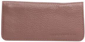 Christopher Kon Hazelnut Silla Leather Wallet