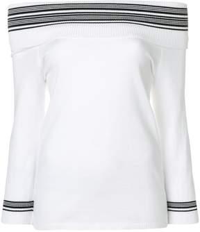 Charlott off shoulder blouse