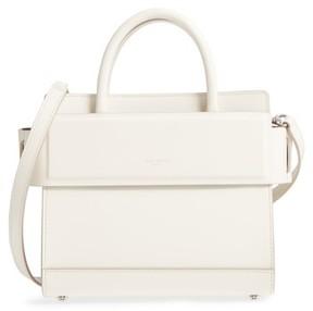 Givenchy Mini Horizon Calfskin Leather Tote - Ivory