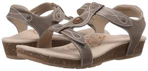 Aetrex Lori Adjustable Quarter Strap Women's Sandals