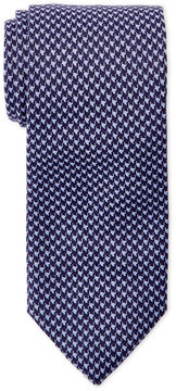 Altea Blue Houndstooth Cotton Tie