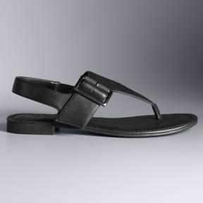 Vera Wang Simply Vera Pagoda Women's Sandals