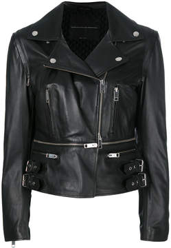 Ermanno Scervino fitted biker jacket