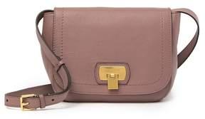 Cole Haan Hinge Lock Leather Crossbody Bag