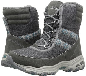 Skechers D'Lites - Snow Park Women's Cold Weather Boots
