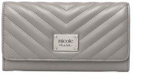Nicole Miller Nicole By Lola Checkbook Wallet