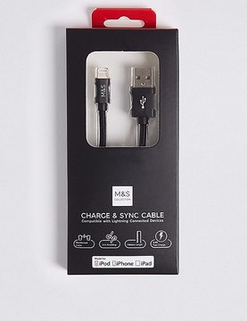 Marks and Spencer Lightning To USB Charging Cable
