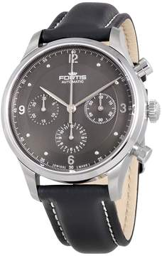 Fortis Tycoon Chronograph p.m. Automatic Anthracite Dial Men's Watch