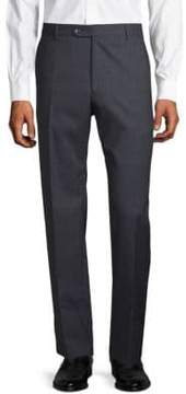Lubiam Wool Check Trousers