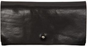Rick Owens Black Medium Flat Wallet
