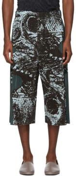 Issey Miyake Homme Plisse Green Mimizuku Shorts