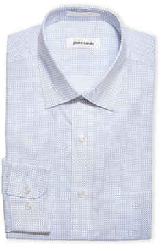 Pierre Cardin Dash Check Easy Care Dress Shirt