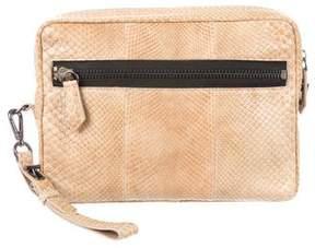 Reed Krakoff Snakeskin Travel Bag