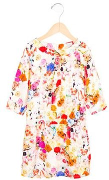 Paul Smith Girls' Floral Print Shift Dress