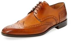 Saks Fifth Avenue Men's Wingtip Blucher Derby Shoe