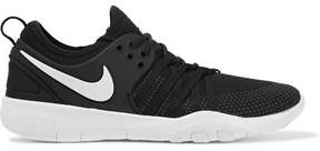 Nike Free Tr 7 Mesh Sneakers - Black