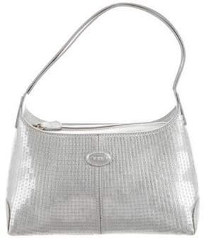 Tod's Metallic Sequin Bag
