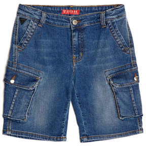 GUESS Denim Cargo Shorts (7-18)