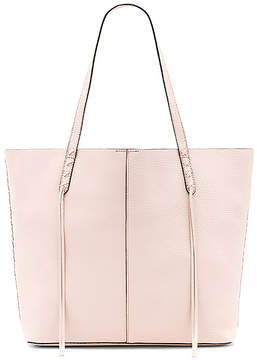 Rebecca Minkoff Medium Unlined Tote With Whipstitch - SOFT BLUSH - STYLE