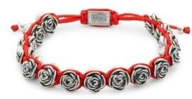 King Baby Studio Macrame Rose Bracelet