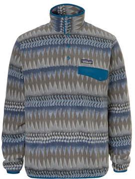 Patagonia Snap-T Colour-Block Synchilla Fleece Pullover