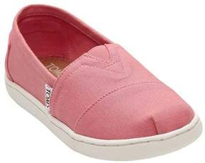 Toms Classic Canvas Bubblegum Pink Ankle-High Canvas Flat Shoe - 6M
