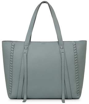 AllSaints Ray East/West Leather Tote