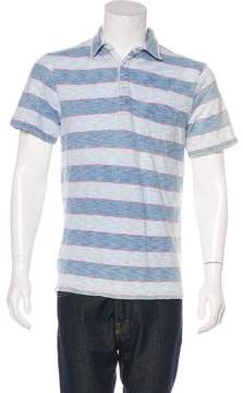 Faherty Striped Polo Shirt