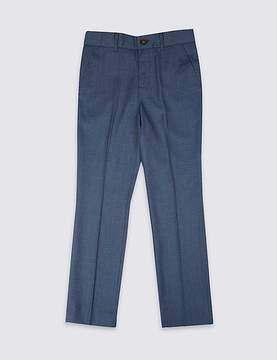Marks and Spencer Birdseye Trousers (3-14 Years)
