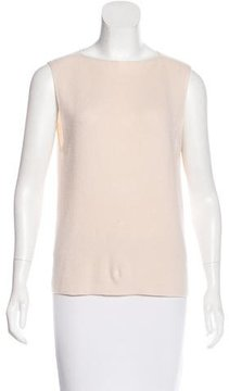 Dusan Cashmere Sleeveless Top