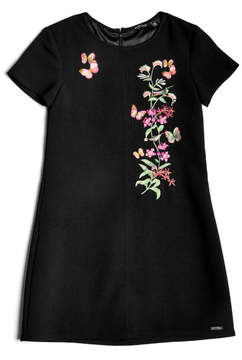 GUESS Butterfly Emboridered Dress (7-18)