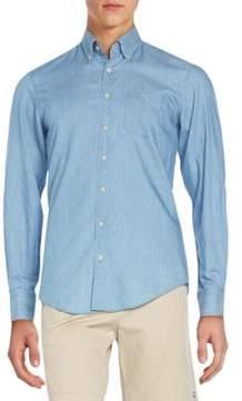 Gant Regular-Fit Chambray Cotton Sportshirt