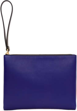 Marni Blue and Orange Double Pouch