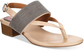 Style&Co. Style & Co Marxie Block-Heel Sandals, Created For Macy's Women's Shoes