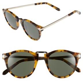 Karen Walker Women's 'Helter Skelter' 48Mm Sunglasses - Crazy Tortoise