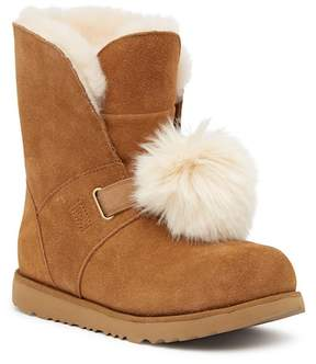UGG Isley Pompom Boot (Little Kid & Big Kid)