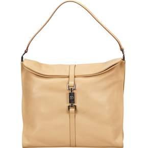 Gucci Jackie leather handbag - BROWN - STYLE