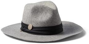 Banana Republic Twist-Trim High-Crown Fedora Hat