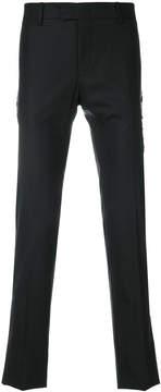 Les Hommes lace-up detail trousers