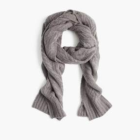 J.Crew Cable-knit scarf