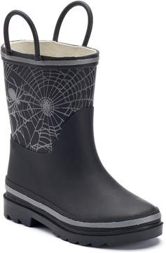 Western Chief Bright Web Reflective Toddlers' Waterproof Rain Boots