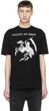 McQ Black Rattle Of Doom T-Shirt