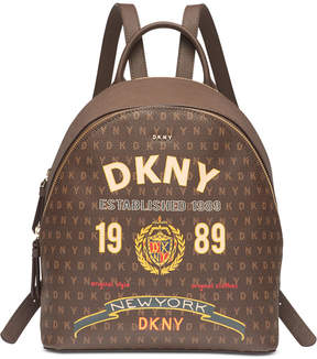DKNY Scarf Print Signature Backpack, Created for Macy's