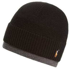 Polo Ralph Lauren Merino Wool Cap - Black