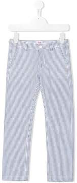 Il Gufo pinstripe pattern trousers
