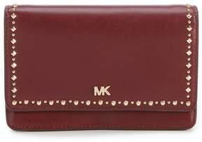 MICHAEL Michael Kors Studded Leather Phone Cross-Body Bag