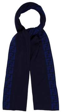 Fendi Zucca Wool Scarf w/ Tags