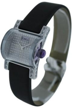 Ebel Tahaa 18K White Gold & Diamond 25mm Watch