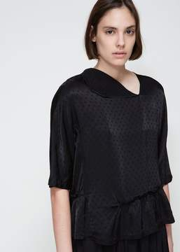 Comme des Garcons Dotted Peplum Top